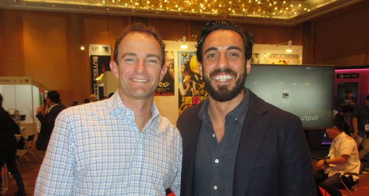Netflix in Singapore: Andy Yeatman, director of kids content, and Aram Yacoubian, manager content acquisitions, kids