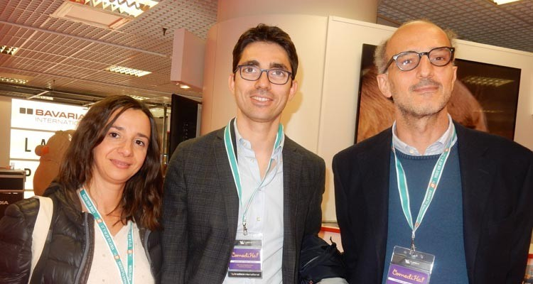 Buyers from Rai Italy: Sabrina Daliccoa, marketing and research acquisitions, Donato Frotoianni, marketing responsible at Rai 1, Alessandro Lostia, vice director, Rai 3
