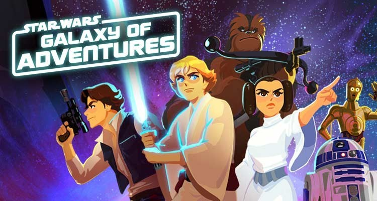 Lucasfilm anuncia la serie animada Star Wars Galaxy of Adventures