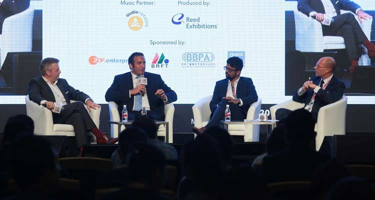 """-""""Live sports: transcending the traditional"""" gathered Mike Kerr, MD Asia, beIN, Italo Zanzi, EVP/MD, Fox Networks Group Asia, and Aneesh Madain, head of sports partnerships, Twitter APAC"""