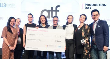 all3media International's ATF Format Pitch 2018: Serenade by Malaysia-based production house phoSumpro! emerged as the winner, receiving S$5,000 in cash to develop the idea