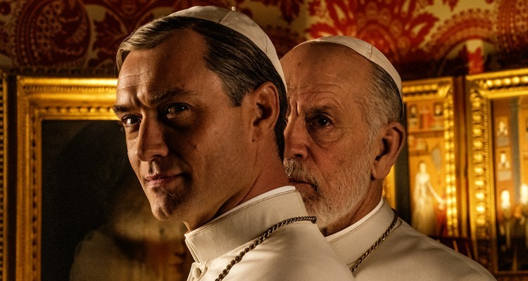 Primera imagen de <em>The New Pope</em>: Jude Law y John Malkovich