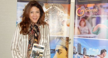 RoseMarie Vega, en su suite de LA Screenings