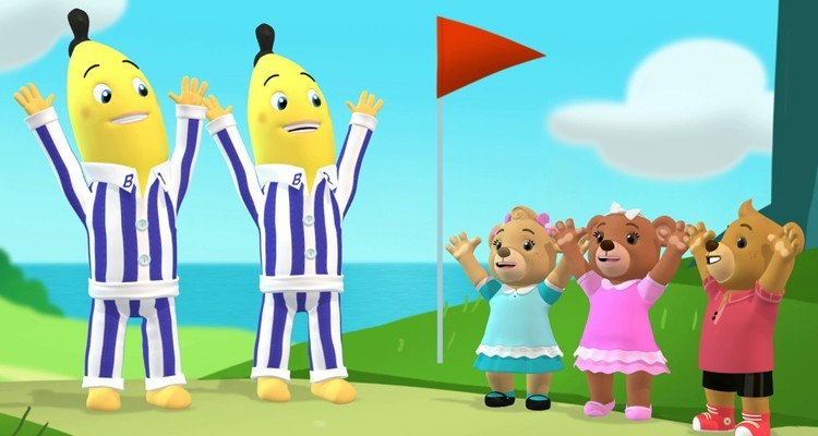 Animated series, Bananas in Pyjamas