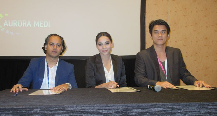 Memorandum of Understanding between Aurora Media (Singapore), Golden Peacock (Malaysia) and 108 Media (Canada) for the co-produced action romance comedy feature film Rafira