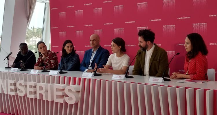 """For first time, Cannes opens its door to the CannesSeries festival and to the Official Competition, with an international jury headed by the US showrunner Harlan Coben, and including Michael Kenneth Williams, French screenwriter Audrey Fouche, Turkish actress Melisa Sozen, German actress Paula Beer, and TV composer Cristobal Tapia De Veer (""""Black Mirror"""")"""